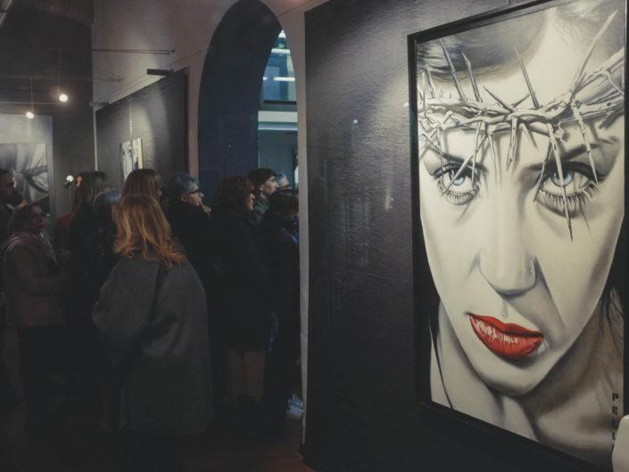 """inaugurazione mostra """"quando l'arte incontra la moda"""""""