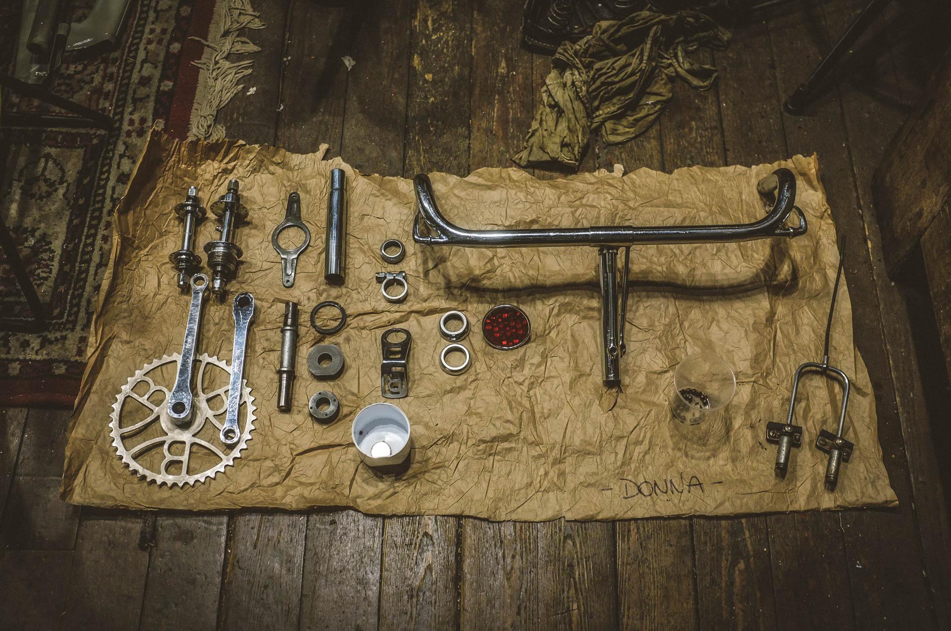 restauro bicicletta donna negozio circus (restauro bici)